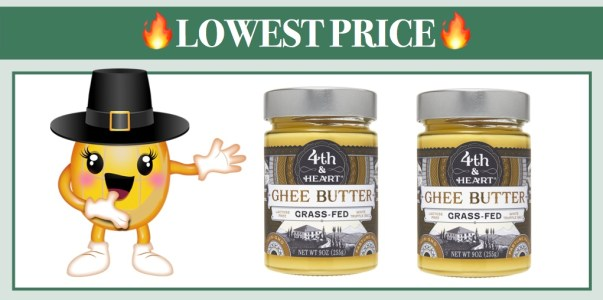 4th & Heart Salted White Truffle Grass-Fed Ghee Butter