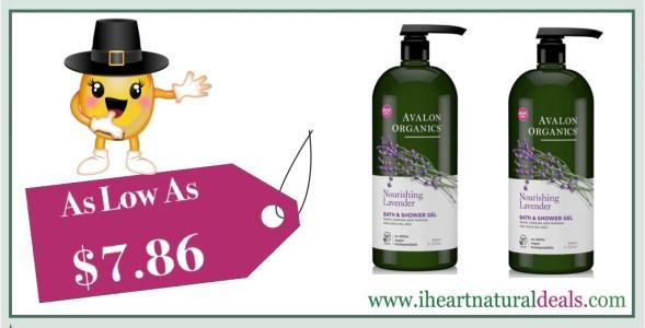 Avalon Organics Bath & Shower Gel