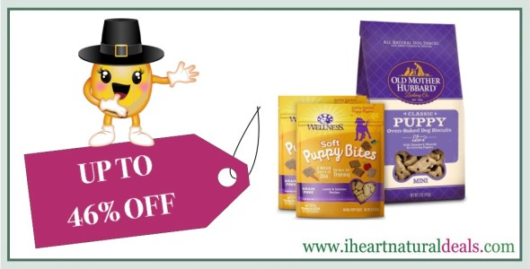 Up to 46% off Dog Treats from Wellness, Old Mother Hubbard & WHIMZEES