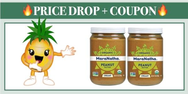 MaraNatha No-Stir Organic Creamy Peanut Butter