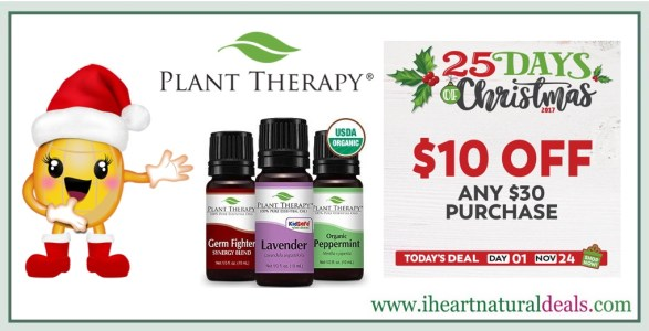 Plant Therapy 25 Days of Christmas Day 1