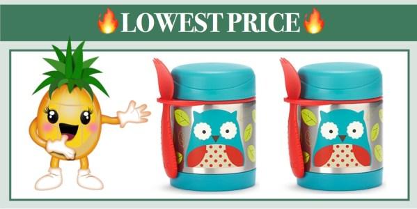 Skip Hop Baby Zoo Insulated Food Jar and Spork Set (Owl)