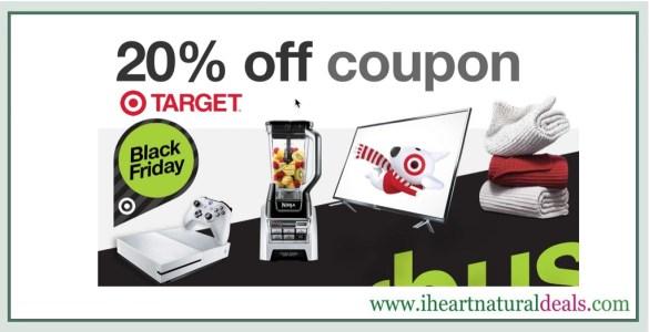 Target 20% Coupon