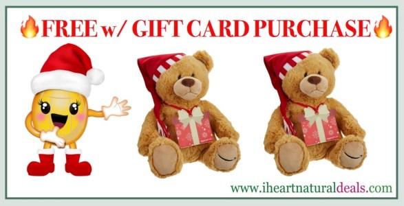 FREE Gund Teddy Bear