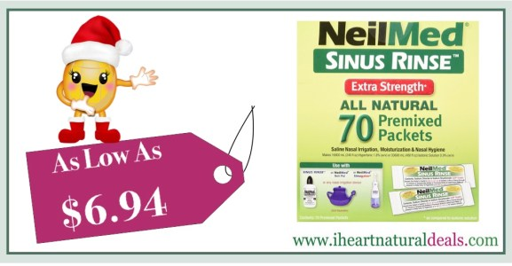 NeilMed's Sinus Rinse Extra Strength Pre-Mixed Hypertonic Packets