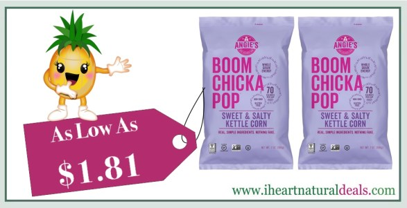 Angie's BOOMCHICKAPOP Sweet & Salty Kettle Corn