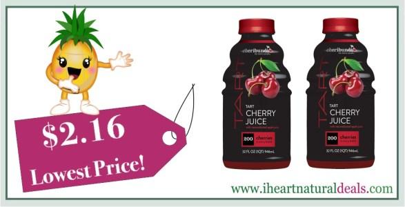 Cheribundi Tart Cherry Juice 32 oz