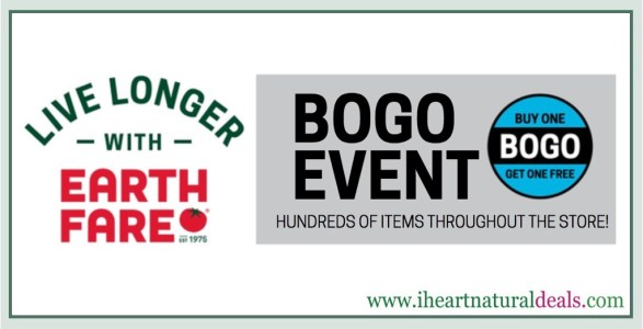 Earth Fare BOGO Event