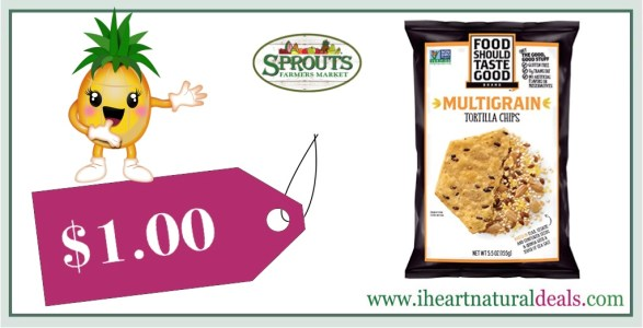 Food Should Taste Good Tortilla Chips Coupon