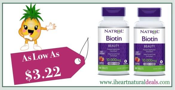 Natrol Biotin Fast Dissolve Tablets 60 ct