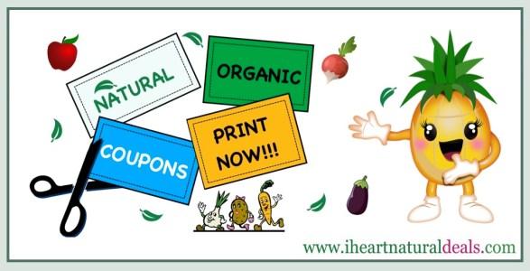 New Natural and Organic Coupons
