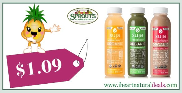 Suja Organic Juice Coupon