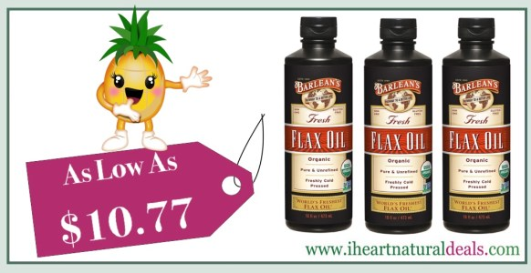 Barlean's Fresh Organic Flax Oil 16-oz