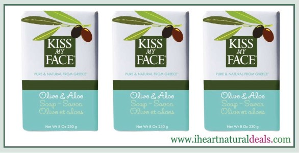 Kiss My Face Moisturizing Bar Soap