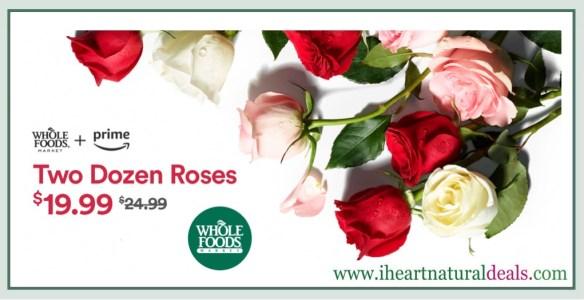 Two Dozen Whole Trade Roses