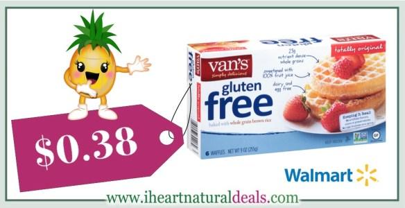 New Vans Foods Coupon Vans Waffles For 038 At Walmart