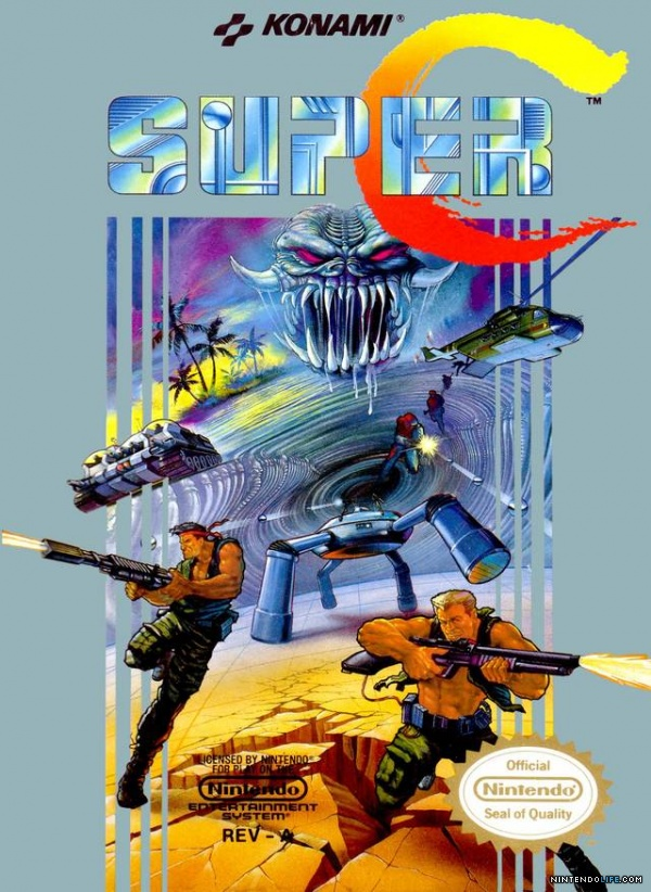 [Review] Super C a.k.a Probotector II: Return of the Evil Forces (NES)