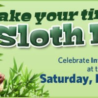 Saturday is Sloth Day