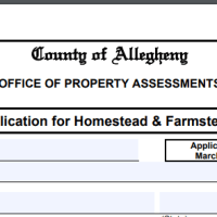 Property Tax Savings in Allegheny County - Homestead/Farmstead (Act 50) Exclusion