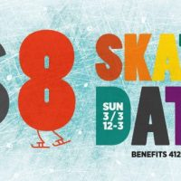Ice Skate into Spring! Very Local's 1st party is a benefit for 412 Food Rescue.