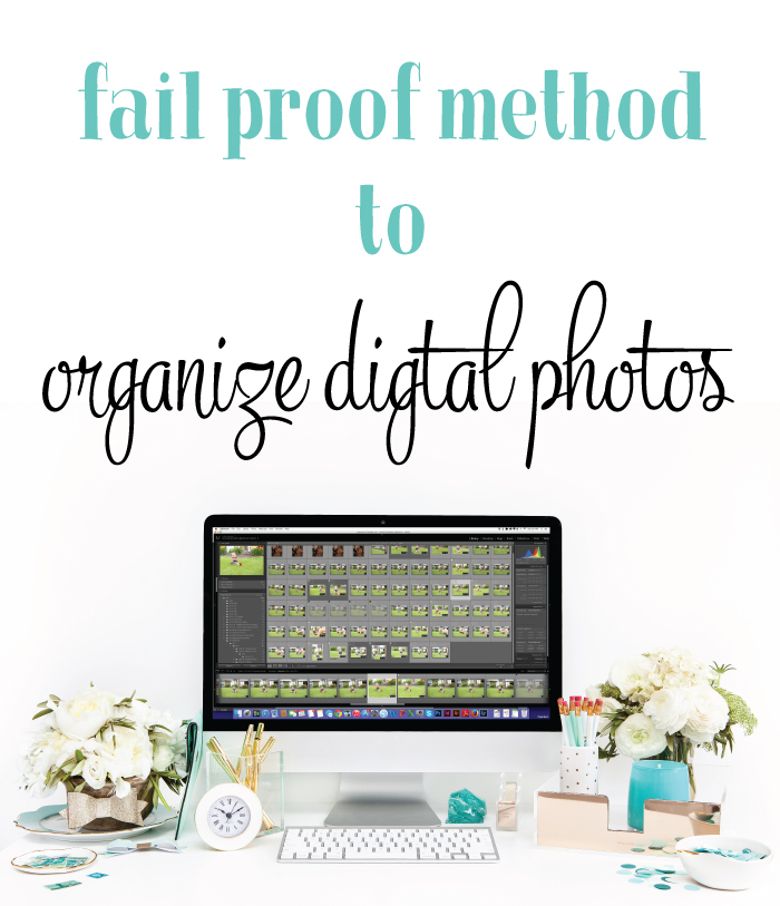 Organizing Digital Photos from I Heart Planners [#WeeklyRoudUp at @HighHeeledLove]