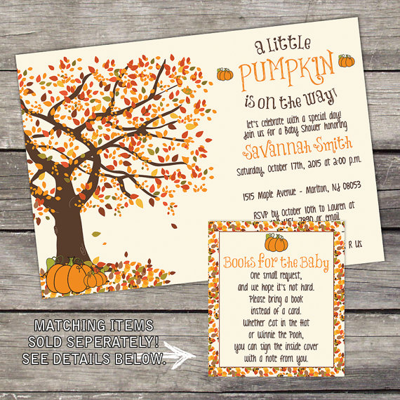 11 fall themed baby shower invitations i heart pregnancy fall baby shower invite filmwisefo