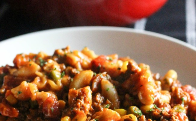 Old Fashioned Beef Goulash I Heart Recipes