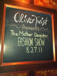 Clothes Hound and Adore fashion show in August at Oliver Twist