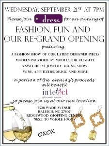 Re-Grand Opening at Dress Boutique in Ridgewood Shopping Center