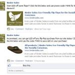 Kinder Soles facebook sale
