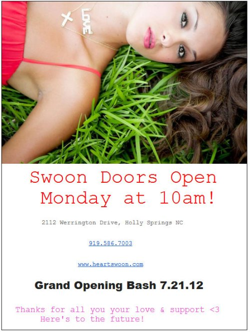 Swoon Boutique opens in Holly Springs and Cary this week