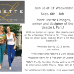Lisette Pant Event at CT Weekends