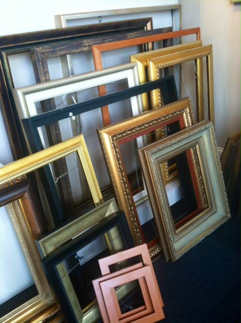 Beautiful frames - up to 75%  off - at ArtSource as they prepare to move within North Hills