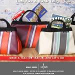 Holly AIken Stitch Taxi bag