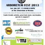 {You're Invited} Arboretum Fest 2013
