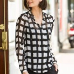 Belk's Top 10 for Women - Fall 2013 - Button Front Shirt