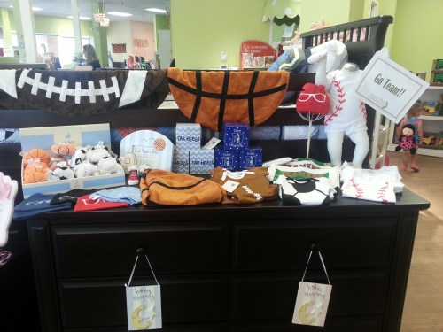 Team/sports apparel for baby