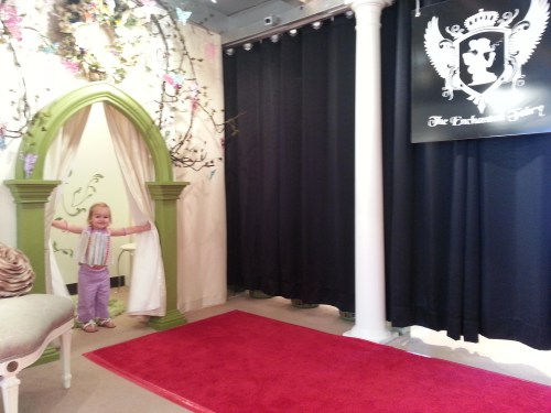 Dressing Room and Runway at The Enchanted Fairy