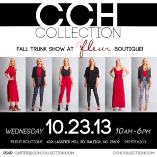 10th Anniversary at Fleur in Raleigh with CCH Collection