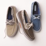 Boat shoes, a Carolina classic, stay in demand in men's collections in Spring 2014