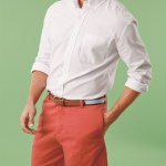 Preppy shorts for men's collections in Spring 2014