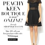 {Movers & Shakers} Peachy Keen Opens Online Boutique