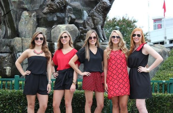 Red and black dresses, rompers and more from Swagger in Cary