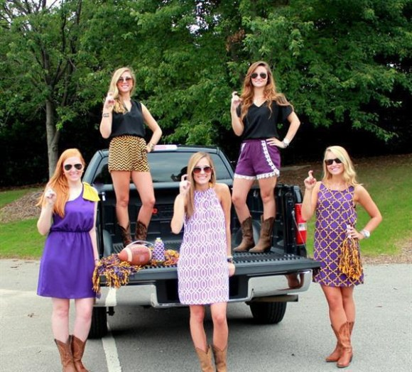 Purple, gold and black dresses and rompers from Swagger in Cary