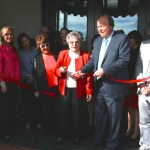 Grand re-opening and ribbon cutting at Bailey's in Cameron Village