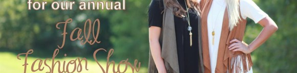 Fall fashion show at Swagger in Cary on Thursday, Sep. 24