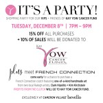 bevello Partners with Local Raleigh Artists for an Event to Benefit the Kay Yow Cancer Fund