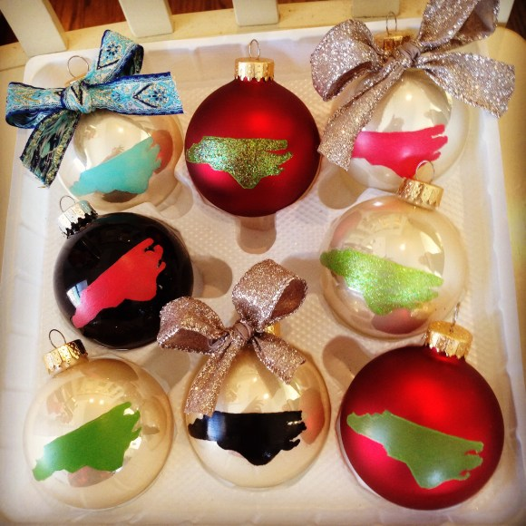 NC ornaments at Deco Raleigh in Downtown!