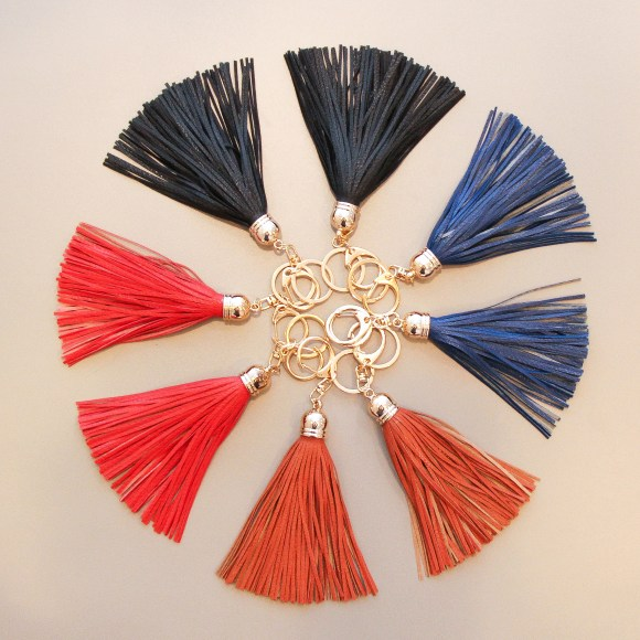 Tassel key chains from madison in Raleigh
