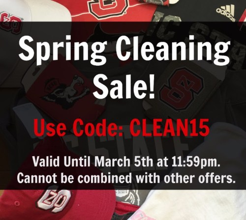 Stock up on Wolfpack gear at the Red and White Shop